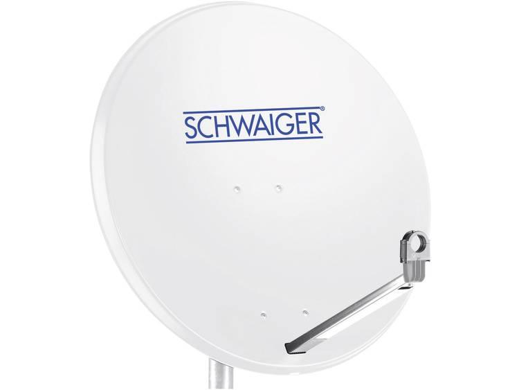 Schwaiger SPI998.0 Satellietschotel 75 cm Reflectormateriaal Aluminium Lichtgri