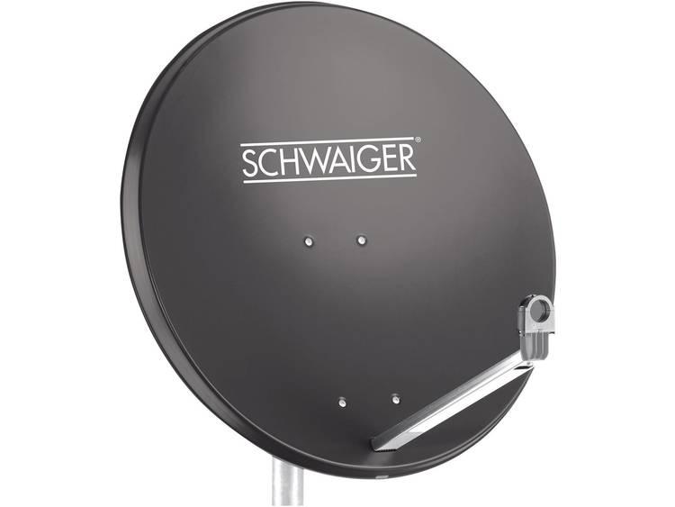 Schwaiger SPI998.1 Satellietschotel 75 cm Reflectormateriaal Aluminium Antracie