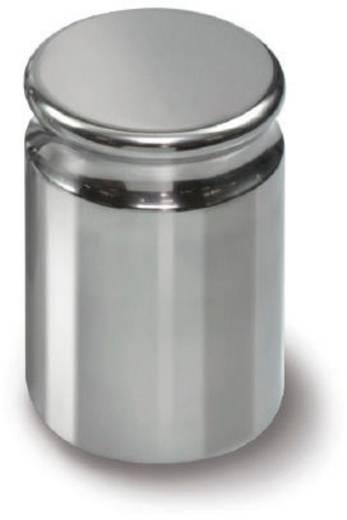 Kern 316-02 E2 gewicht 2 g compacte vorm met uitsparing, roestvrij staal gepolijst