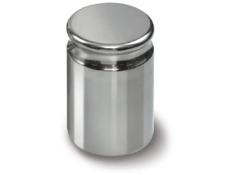 Kern 316 07 E2 gewicht 100 g compacte vorm met uitsparing roestvrij staal gepol