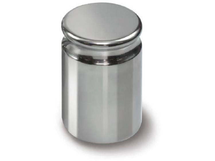 Kern 316 08 E2 gewicht 200 g compacte vorm met uitsparing roestvrij staal gepol