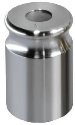 Kern 329-01 NON-OIML gewicht 1 g, afgesteld volgens nauwk.kl. F1 compacte vorm met uitsparing, roestvrij staal fijngedra
