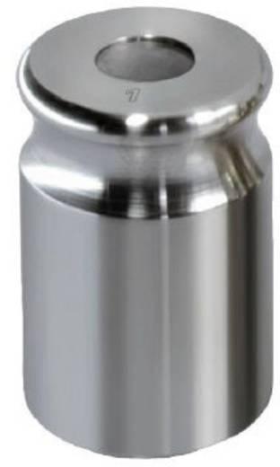 Kern 329-02 NON-OIML gewicht 2 g, afgesteld volgens nauwk.kl. F1 compacte vorm met uitsparing, roestvrij staal fijngedraaid