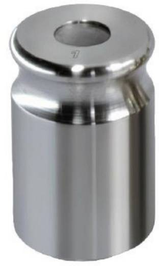 Kern 329-03 NON-OIML gewicht 5 g, afgesteld volgens nauwk.kl. F1 compacte vorm met uitsparing, roestvrij staal fijngedraaid