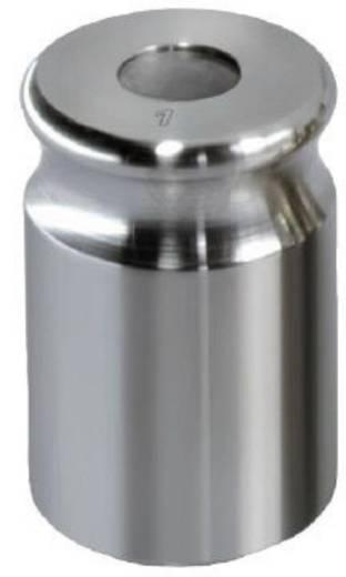 Kern 329-12 NON-OIML gewicht 2 kg, afgesteld volgens nauwk.kl. F1 compacte vorm met uitsparing, roestvrij staal fijngedr
