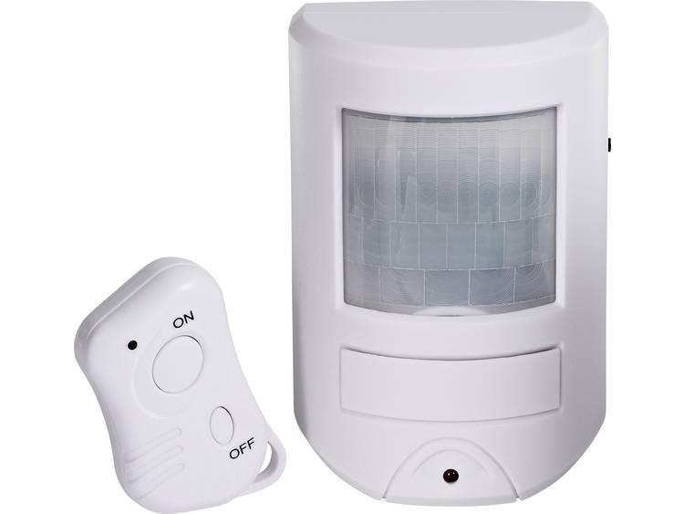 Cordes PIR draadloze alarminstallatie CC-400 001010 Geluidsniveau 85 dB-3 m afstand Detectiehoek 60°
