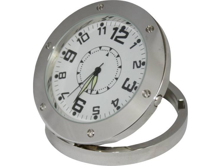 Gecamoufleerde bewakingscamera in tafelklok met opnamefunctie, met geheugenkaartslot 2.8 mm BS Uhr