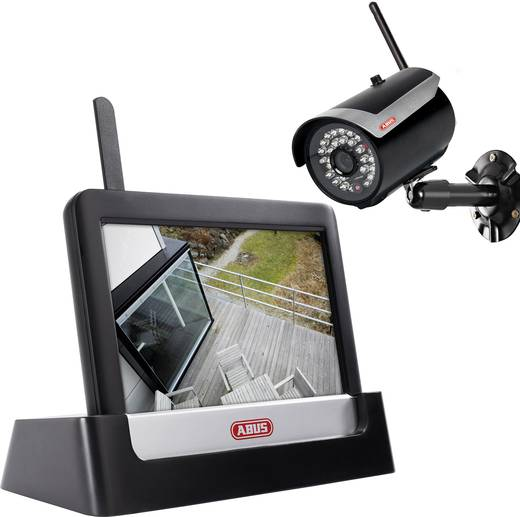 Draadloze bewakingsset 4-kanaals Met 1 camera ABUS TVAC16001A