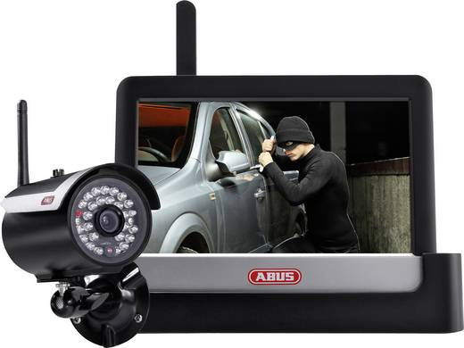 Draadloze bewakingsset 4-kanaals Met 1 camera ABUS TVAC16000A