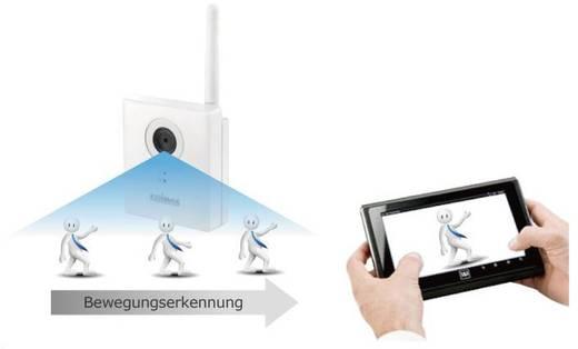 WiFi, LAN IP-camera 1280 x 960 pix 1,7 mm