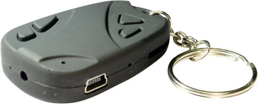 BS Key Chain Gecamoufleerde bewakingscamera in sleutelhangerbehuizing 16 GB 720 x 480 pix