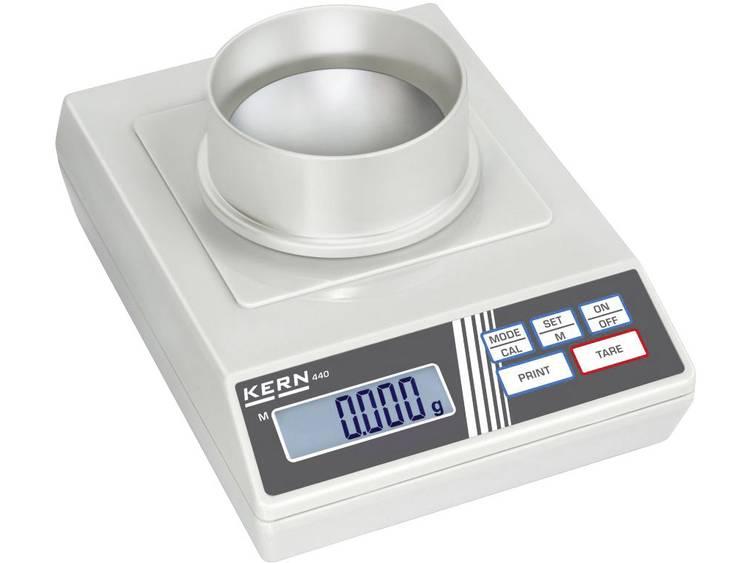 Kern 440-21A Laboratorium weegschaal Weegbereik (max.) 60 g Resolutie 0.001 g Werkt op het lichtnet,