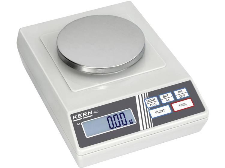 Kern 440-35N Precisie weegschaal Weegbereik (max.) 400 g Resolutie 0.01 g Werkt op het lichtnet, Wer