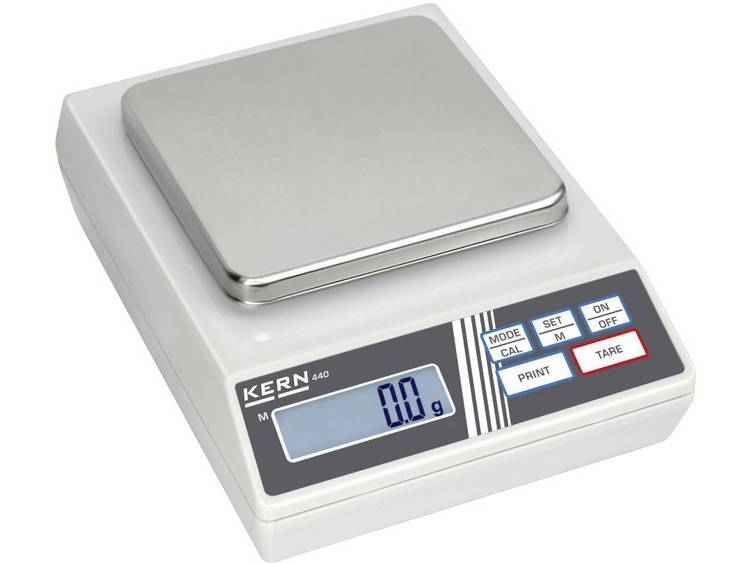 Kern 440-43N Precisie weegschaal Weegbereik (max.) 400 g Resolutie 0.1 g Werkt op het lichtnet, Werk