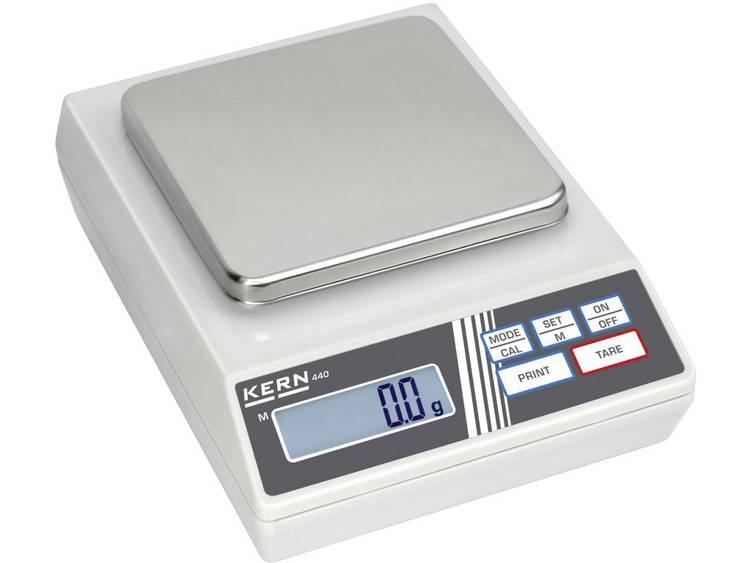 Kern 440-49A Precisie weegschaal Weegbereik (max.) 6 kg Resolutie 0.1 g Werkt op het lichtnet, Werkt