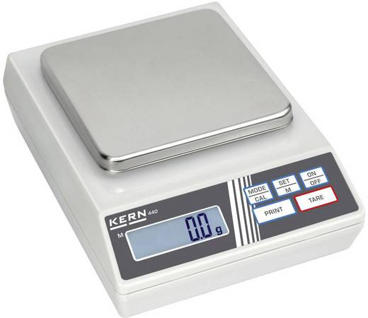 Kern 440-51N Precisie weegschaal Weegbereik (max.) 4 kg Resolutie 1 g werkt op het lichtnet, werkt op batterijen, werkt
