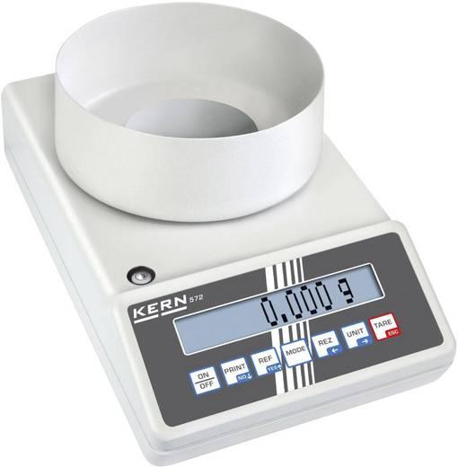 Kern 572-32 Precisie weegschaal Weegbereik (max.) 420 g Resolutie 0.001 g werkt op het lichtnet, werkt op een accu Zilve