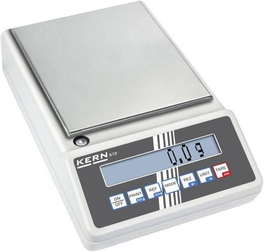 Kern 572-45 Precisie weegschaal Weegbereik (max.) 12 kg Resolutie 0.05 g werkt op het lichtnet, werkt op een accu Zilver