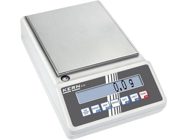 Kern 572-57 Precisie weegschaal Weegbereik (max.) 24 kg Resolutie 0.1 g Werkt op het lichtnet, Werkt