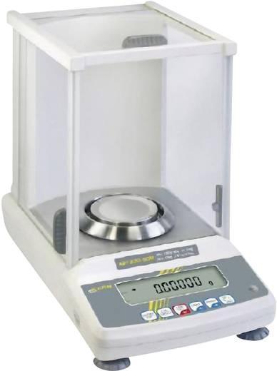Kern ABT 220-4M Analyse weegschaal Weegbereik (max.) 220 g Resolutie 0.001 g werkt op het lichtnet Zilver