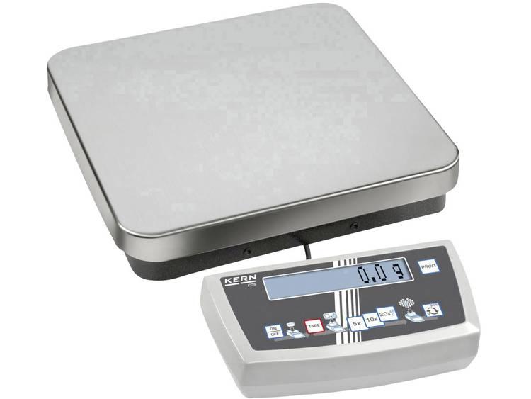 Kern Telweegschaal Weegbereik max. 30 kg Resolutie 0.1 g werkt op het lichtnet