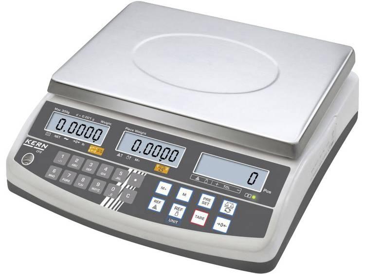 Kern Telweegschaal Weegbereik max. 6 kg Resolutie 0.1 g werkt op het lichtnet