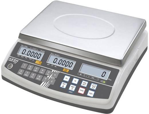 Kern Telweegschaal Weegbereik (max.) 6 kg Resolutie 0.1 g werkt op het lichtnet, werkt op een accu Zilver
