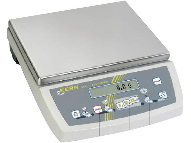 Kern Telweegschaal Weegbereik max. 16 kg Resolutie 0.05 g werkt op het lichtne