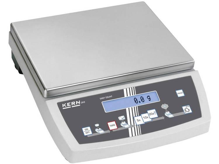 Kern Telweegschaal Weegbereik max. 16 kg Resolutie 0.1 g werkt op het lichtnet