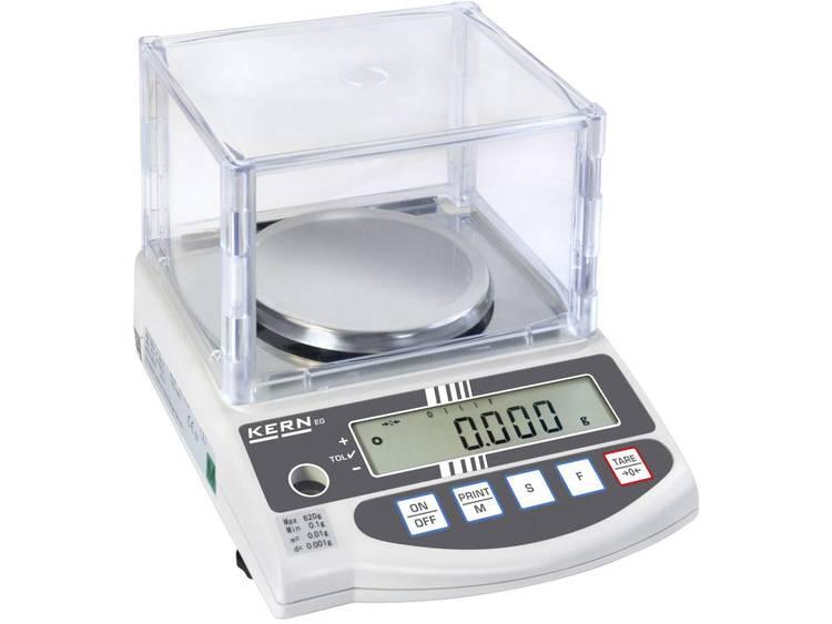 Kern EG 620-3NM Precisie weegschaal Weegbereik (max.) 620 g Resolutie 0.001 g Werkt op het lichtnet,