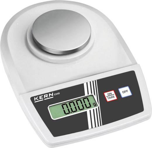 Kern EMB 200-3 Brievenweegschaal Weegbereik (max.) 0.2 kg Resolutie 0.001 g werkt op het lichtnet, werkt op batterijen Zilver