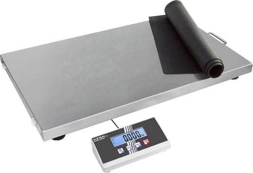 Kern EOS 300K100XL Pakketweegschaal Weegbereik (max.) 300 kg Resolutie 100 g werkt op het lichtnet, werkt op batterijen Zilver