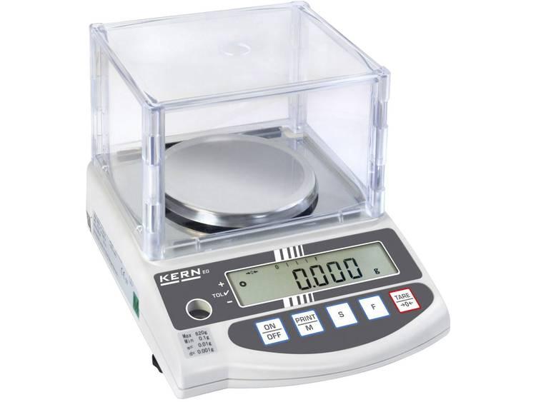 Kern EW 220-3NM Precisie weegschaal Weegbereik (max.) 220 g Resolutie 0.001 g Werkt op het lichtnet,