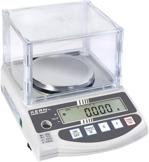 Kern EW 220-3NM Precisie weegschaal Weegbereik (max.) 220 g Resolutie 0.001 g werkt op het lichtnet, werkt op een accu Zilver