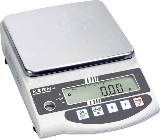 Kern EW 6200-2NM Precisie weegschaal Weegbereik (max.) 6.2 kg Resolutie 0.01 g werkt op het lichtnet, werkt op een accu