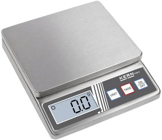 Kern FOB 5K1S Brievenweegschaal Weegbereik (max.) 5 kg Resolutie 1 g werkt op batterijen Zilver