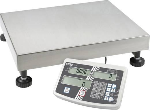 Kern Telweegschaal Weegbereik (max.) 15 kg Resolutie 0.1 g, 0.2 g werkt op het lichtnet, werkt op een accu Zilver