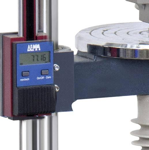 Sauter LB-A02 Bevestigen van lengtemeter op een SAUTER testbank op de locatie