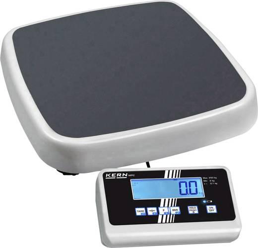 Kern MPC 250K100M Digitale personenweegschaal Geijkt, Kalibreerbaar 250 kg Grijs, Wit