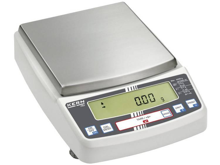 Kern PBJ 6200-2M Laboratorium weegschaal Weegbereik (max.) 6.2 kg Resolutie 0.01 g Werkt op het lich