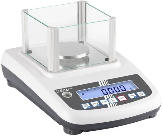 Kern PFB 300-3 Precisie weegschaal Weegbereik (max.) 300 g Resolutie 0.001 g Werkt op het lichtnet Zilver