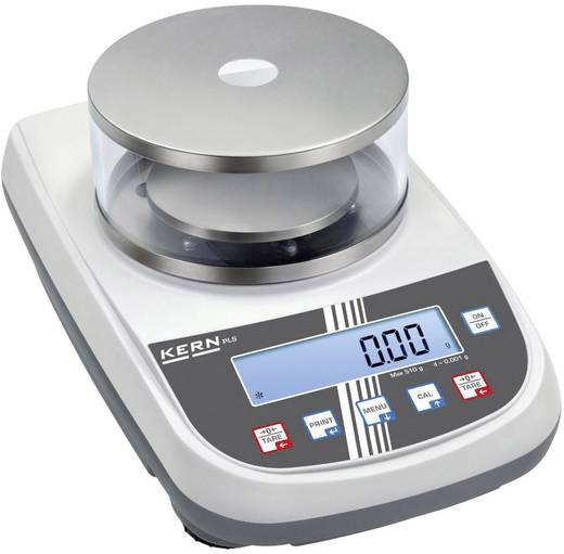Kern PLS 420-3F Precisie weegschaal Weegbereik (max.) 420 g Resolutie 0.001 g werkt op het lichtnet Zilver