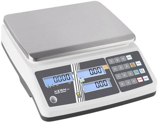 Kern Retailschaal Weegbereik (max.) 15 kg Resolutie 2 g werkt op het lichtnet, werkt op een accu