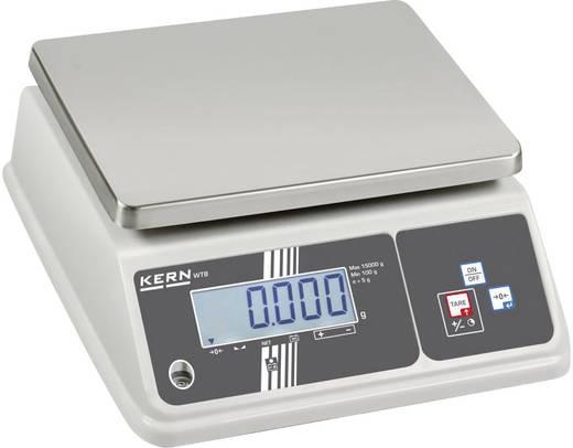 Kern WTB 10K-3N Tafelweegschaal Weegbereik (max.) 15 kg Resolutie 2 g werkt op het lichtnet, werkt op een accu