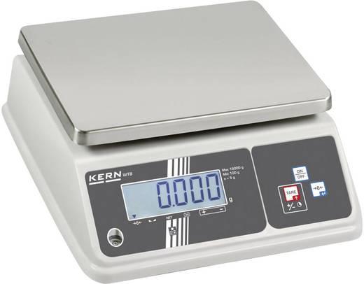 Kern Tafelweegschaal Weegbereik (max.) 6 kg Resolutie 1 g werkt op het lichtnet, werkt op een accu