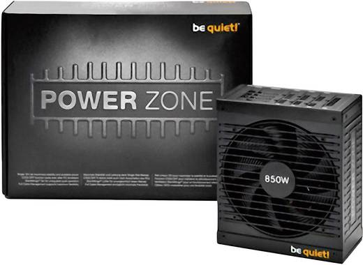 BeQuiet Power Zone CM PC netvoeding 850 W ATX 80 Plus Bronze