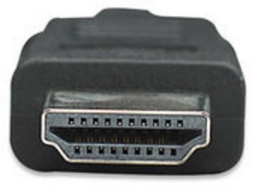 HDMI Aansluitkabel Manhattan [1x HDMI-stekker - 1x HDMI-stekker] 15 m Zwart