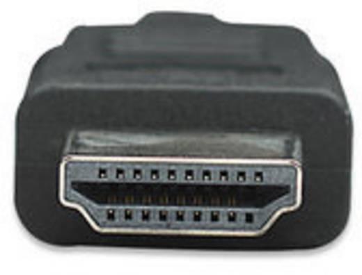 HDMI Aansluitkabel Manhattan 323222-CG [1x HDMI-stekker - 1x HDMI-stekker] 3 m Zwart