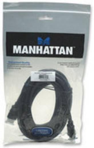 HDMI Aansluitkabel Manhattan 323239-CG [1x HDMI-stekker - 1x HDMI-stekker] 5 m Zwart