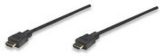 HDMI Aansluitkabel Manhattan 308434-CG [1x HDMI-stekker - 1x HDMI-stekker] 15 m Zwart